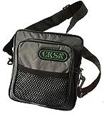 CKSN de-Luxe Hund-Gassi-Tasche - für Leckerchen, Spielzeuge, Clicker, Hundepfeife, Halsband, Leine, Maulkorb, Kotbeutel, grau