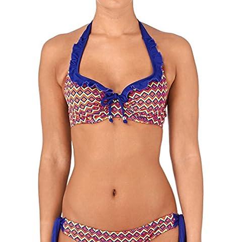 Pour Moi? Womens Marruecos con aros Bikini Halter Top