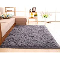 Sliwei Household Blanket Super Soft Faux Fur Rug for Bedroom Sofa Living Room Area Rugs