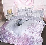 Online Forever Pretty Einhorn Bettbezug Set Bettwäsche Quilt Double (200x 200cm)