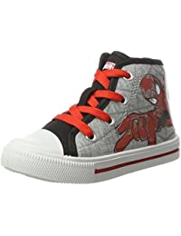 Spiderman Sp003223, Chaussons montants garçon