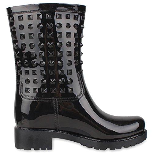 Japado - Stivali di gomma Donna Nero