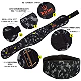 "6"" INCH Weightlifting Belt-Contoured and Ultra-Light Foam Core- Comfort Stabilizing Back Support–Best for Crossfit-Olympic Lifting-Powerlifting-Squat-Deadlift-Gym Workouts-Injury Prevention"