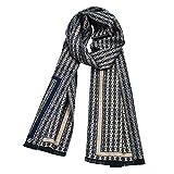 ECHARPE rayée multicolore dominante bleue 180 cm *30 cm   accessoire mode homme