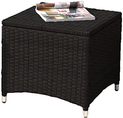 Hocker Lanzarote in Schwarz