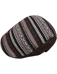 Junebao Invierno Cálido Ocasionales Hats Retro Moda Clásico Boina Ajustable  Transpirable Sombrero De Al Aire Libre c6cb342298e