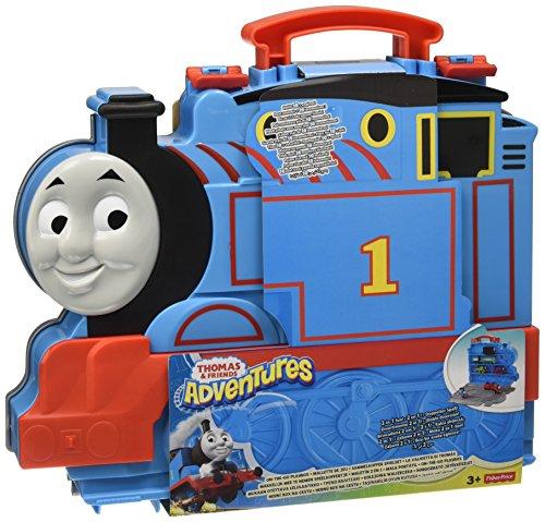 Mattel Fisher-Price FBB85 – Thomas Adventures Sammelkoffer Spielset, Vorschul- Spielwelten