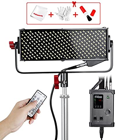 Aputure Light Storm LS 1/2w Highest CRI98 264 LED Video Light Panel for Perfect Color, 22mm (0.072ft) thickness Ultra-Small Size to Be Used in a Small Environment, with A-mount Plate and DMX512