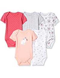 Rene Rofe Baby Baby Girls 5 Pc Bodysuit Set