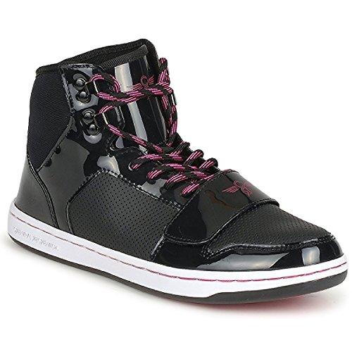 Creative Recreation Womens W Cesario Mehrfarbig - Black/pink Sneaker High 36 (Lo Creative Cesario Recreation)