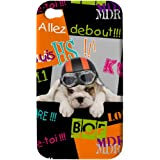 Akashi Coque pour iPhone 4/4S Debout puppy