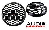 AUDIO SYSTEM GI 200 PA - Griglia per altoparlante, 20 cm, 1 paio, colore: nero opaco