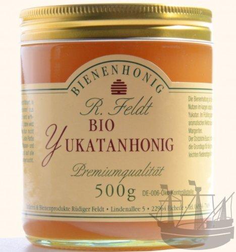 Yukatan tropischer BIO Honig, fliederartiges Aroma, 500g