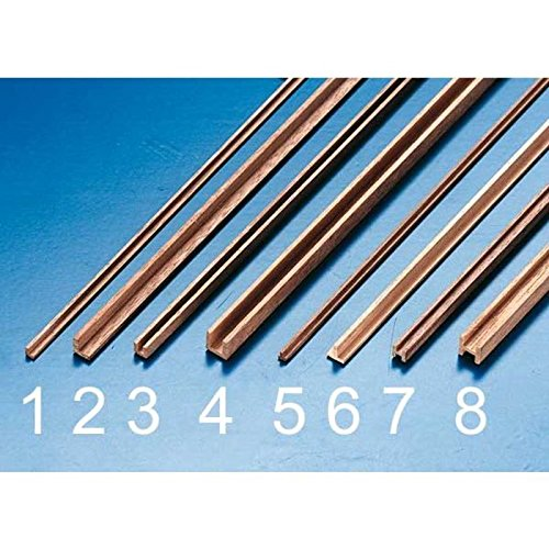 Preisvergleich Produktbild Holzprofil gerade T 2x2x500(2Stk)