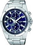 Citizen Herren-Armbanduhr Chronograph Quarz Edelstahl AN3530-52L