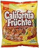 California Früchte - Fruchtige Lutschbonbons mit Fruchtsaftfüllung in verschiedenengeschmacksrichtungen wie Ananas &grapefruit - (15 x 425g Beutel)