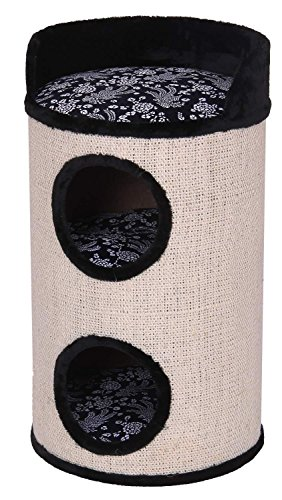 katzeninfo24.de A.K. for Pets 40287 Katzenmöbel Tower Mr. Big, 45 x 84 cm, sisal