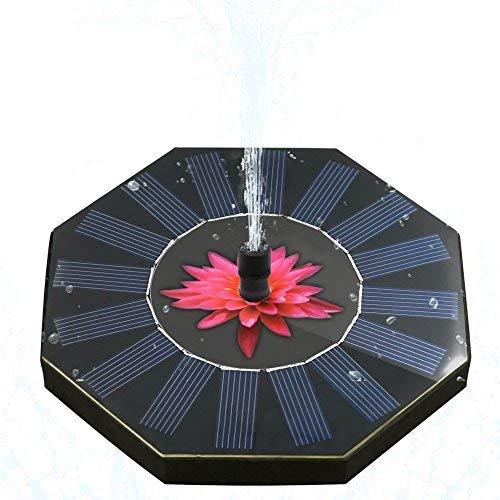 Características de la bomba de fuente solar:   ■Refresca el aire, aumenta la humedad  ■ Diseño flotante, colóquelo en la piscina sin ningún accesorio  ■ Nueva bomba sin escobillas, arranque rápido, eficiente y fuerte estabilidad  ■ Alimentación ...