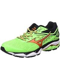 Sportive Scarpe da Lavoro Uomo - Uomo Scarpe da Corsa Ginnastica (38.5, Verde)