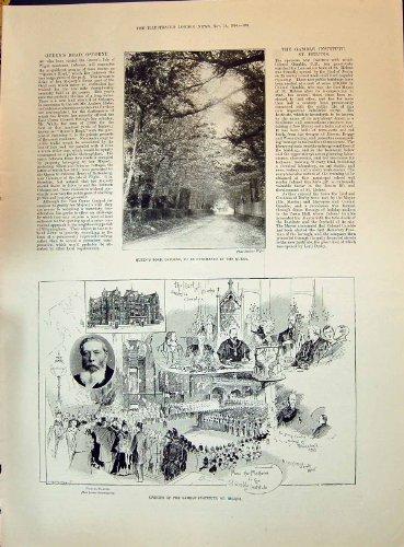 Autore 1896 Di St Helens dell'istituto di gioc di derby del conte dei Di di di Crockett...