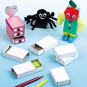 Sachet de 30 Boîtes d'Allumettes - Idéal pour la Création de petits rangements
