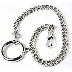 HHM 0093 Silver pocket watch chain