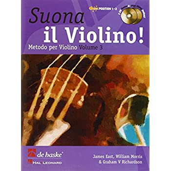Suona Il Violino! Vol. 3  Methodo Per Violino + 2 Cd
