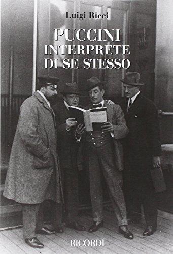 Puccini interprete di se stesso por Luigi Ricci