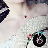 BAOZIV587 Einfache Student kurze Anhänger kleine frische Sen Halskette weibliche Schlüsselbein Kette Schmuck Schmuck - Küken