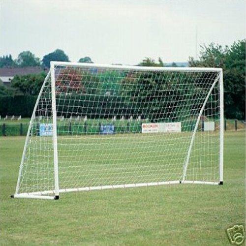 8x4ft Fußball Torpfosten Nets 2.4x1.2m für Poly / Samba Junior Sport Spiel
