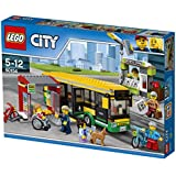 LEGO City Town Bus Station Building Blocks for Kids 5 to 12 Years (337 Pcs) 60154