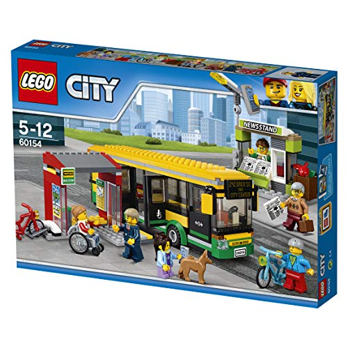 LEGO City 60154 - Busbahnhof (City Park Lego)
