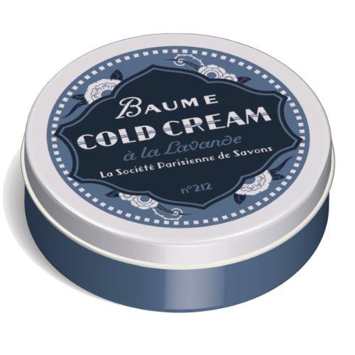 La Société Parisienne De Savons Baume à Lèvres Cold Cream 33 g