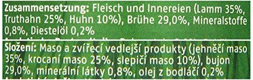 Christopherus Alleinfutter für Hunde, Nassfutter, Erwachsener Hund, Geflügel/ Lamm, Fleischmahlzeit 400 g - 2