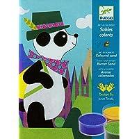 DJECO Color Sand Panda & Friends DJ08630 (japan import)