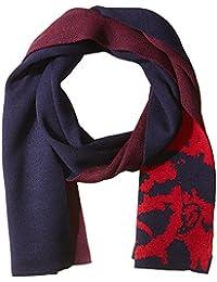 DIESEL Men s K-DUBOO Foulard Accessoires Echarpe 30x165cm - Noir ou  Marine Rouge 51a48c111d4