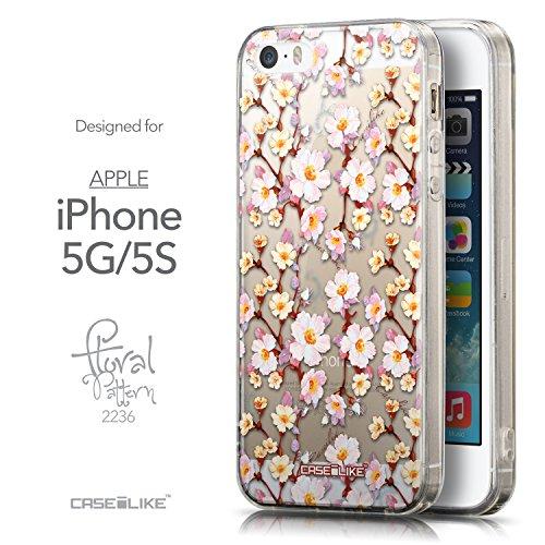 CASEiLIKE Graffiti 2709 Housse Étui UltraSlim Bumper et Back for Apple iPhone 5G / 5S +Protecteur d'écran+Stylets rétractables (couleur aléatoire) 2236