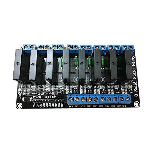 Ecloud Shop 5V Relé estado sólido 8 canales Disparador
