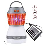 Mosquito Zapper Camping Light Rechargeable Tent Lantern with Bug Zapper Function USB Charging