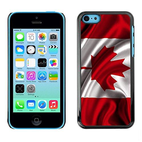 Graphic4You Vintage Uralt Flagge Von Kanada Kanadier Design Harte Hülle Case Tasche Schutzhülle für Apple iPhone 5C Design #2