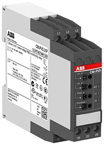 ABB-ENTRELEC CM-PVS 31P - RELE CONTROL TRIFASICO CM-PVS  31 POLOS 2 CON C RESORTE