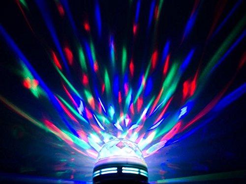 Preisvergleich Produktbild Rotierendes LED Partylicht RGB / Partylicht DJ Beleuchtung Weihnachtsparty Disco Party Klub