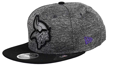 New Era Minnesota Vikings 9fifty Snapback Grey Collection Black/Grey - S-M (Authentic Der Hat Collection)