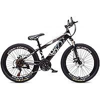 Bicicletta Zonix MTB New Fashion 24 Pollici Cambio 21 Velocità Nero Grigio 85% Assemblata