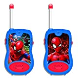 LEXIBOOK TW12SP Spiderman Walkie-Talkies, Blue/Red