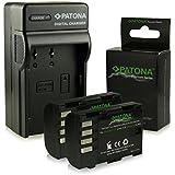 Bundle - 4en1 Chargeur + 2x Premium Batterie DMW-BLF19 DMW-BLF19E pour Panasonic Lumix DMC-GH3 | DMC-GH3A | DMC-GH4 [ Li-ion; 2000mah; 7.2V ]