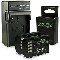 Bundle - 4en1 Cargador + 2x Premium Batería DMW-BLF19 DMW-BLF19E para Panasonic Lumix DMC-GH3   DMC-GH3A   DMC-GH4 [ Li-ion; 2000mah; 7.2V ]