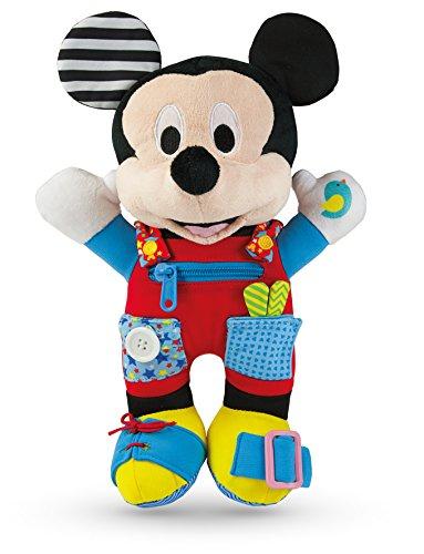 Clementoni-52280-Plüsch Baby Mickey-Dress Up-Mich.
