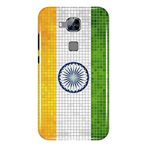A And B Printed Mobile Back Case For Huawei G8 (Multi Color)