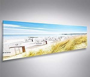 islandburner bild bilder auf leinwand strandkorb strand. Black Bedroom Furniture Sets. Home Design Ideas
